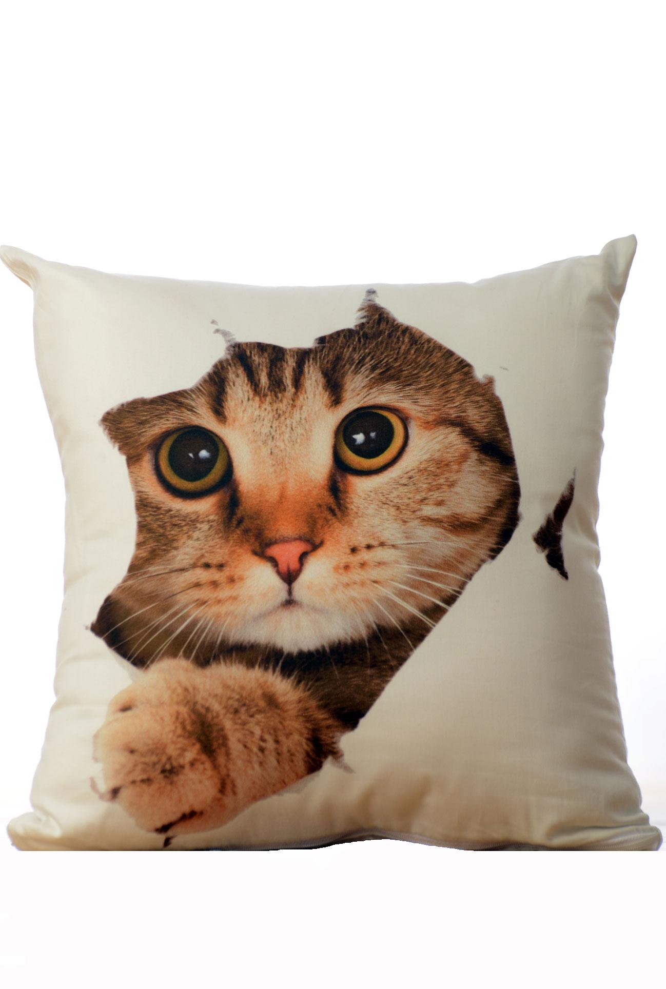 Dekorační polštář - Kočka