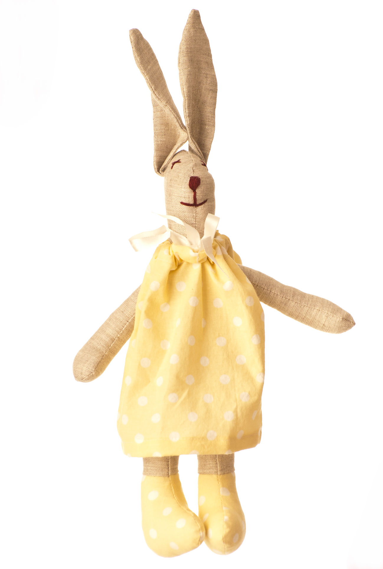 Zajíc v pyžamu žlutý