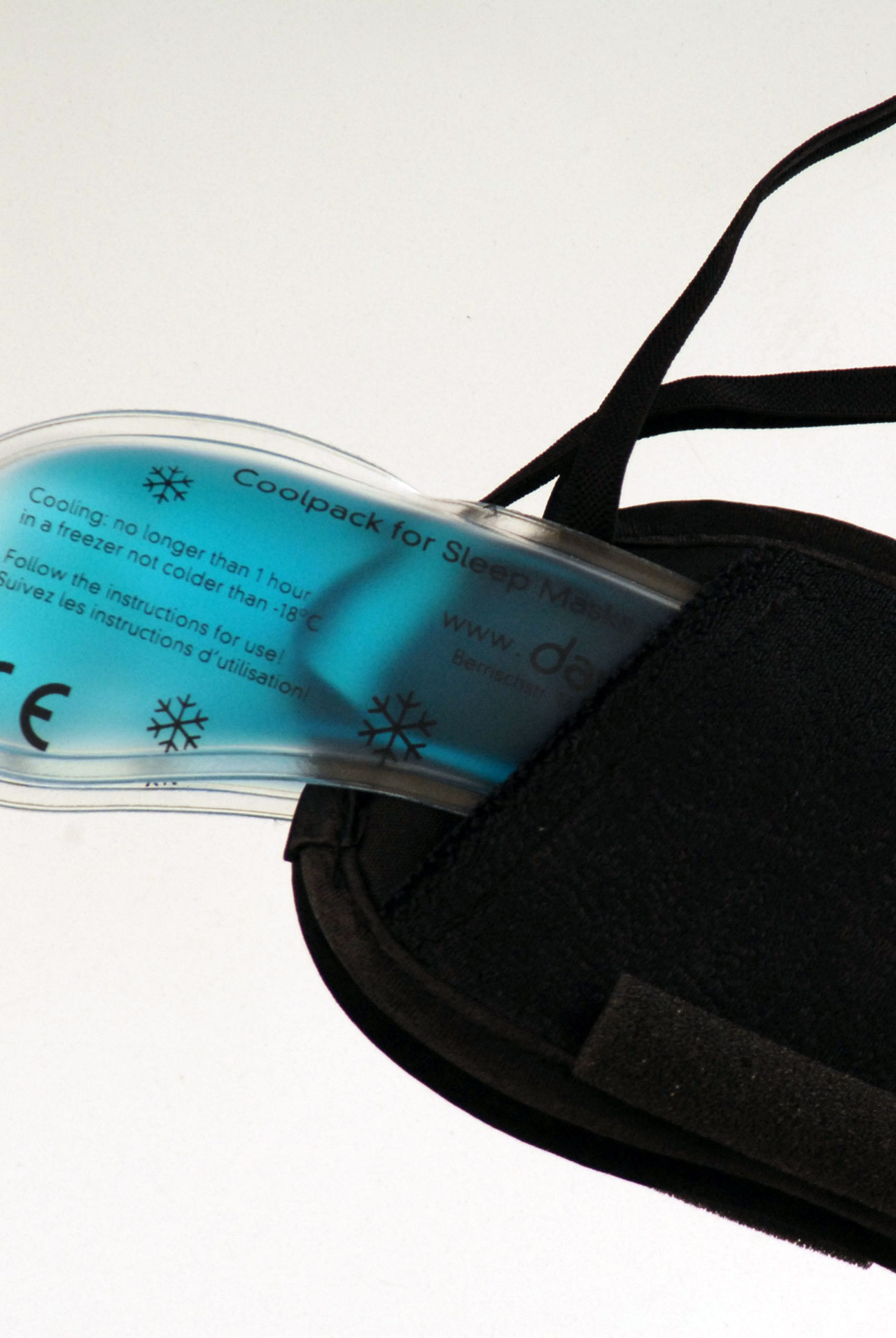 Maska na spaní - Velvet black