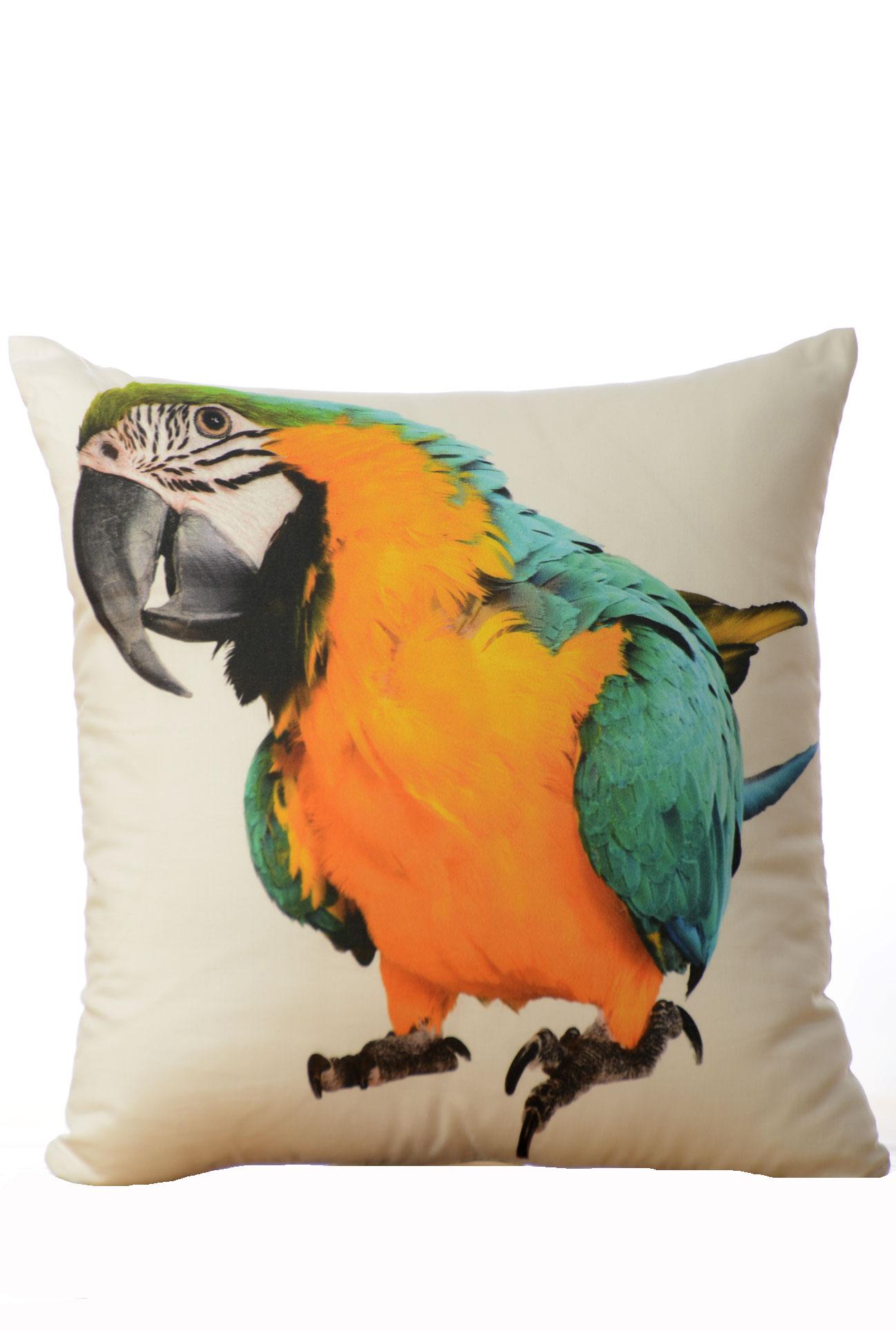 Dekorační polštář - Papoušek