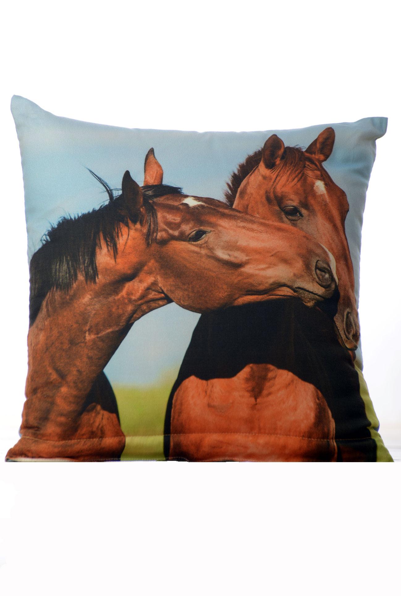 Dekorační polštář - Koně