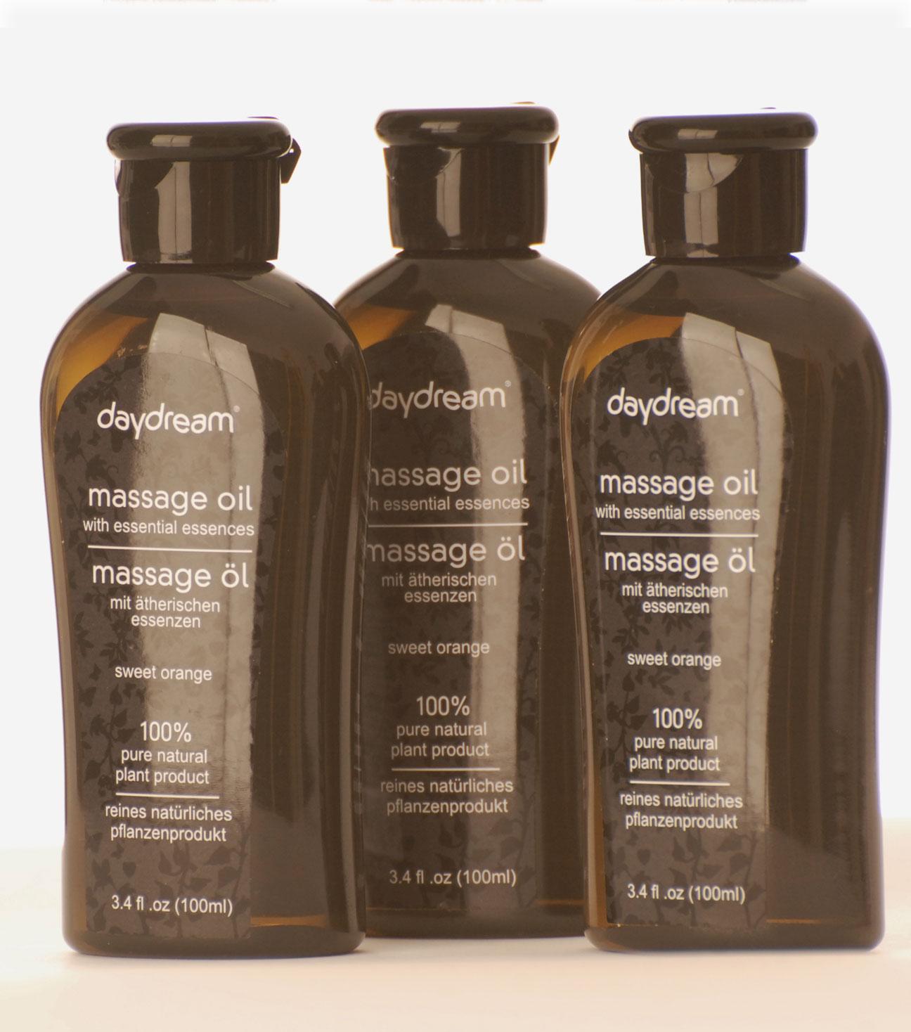 Masážní olej – Sweet orange