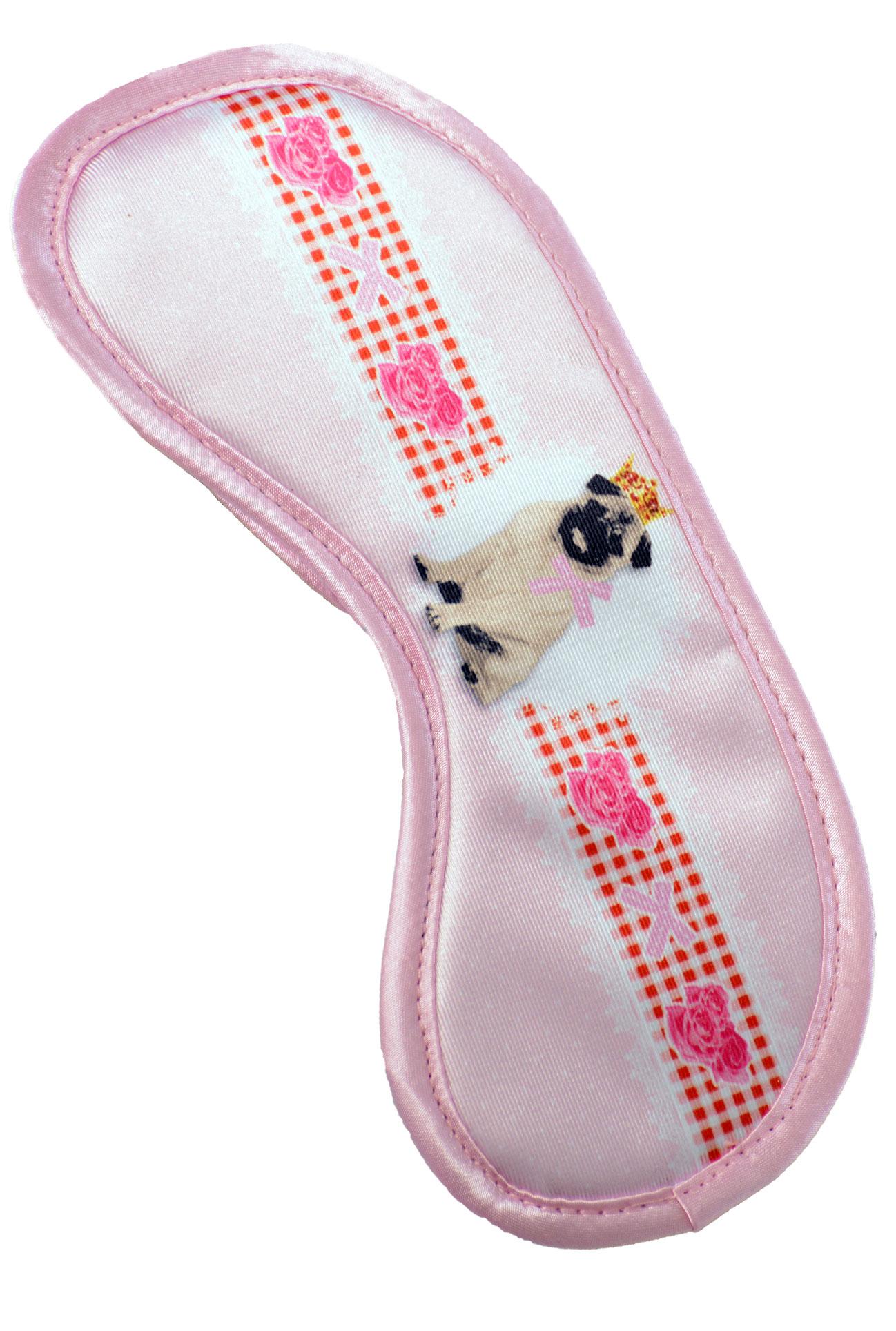 Maska na spaní - Pet pink