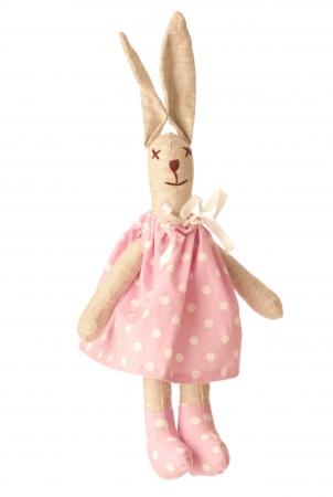 Zajíc v pyžamu růžový