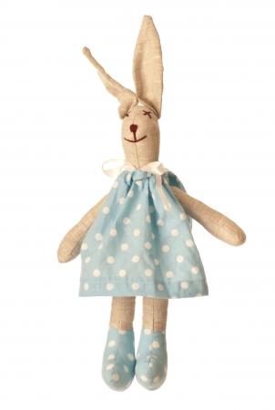 Zajíc v pyžamu modrý